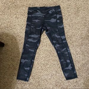 Athleta Camo Leggings